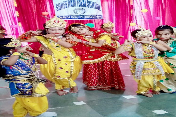Shree Ram Ideal School-Krishnastami Celebrations