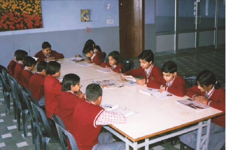 Shree Ram Ideal School-Library