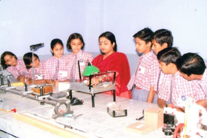 Shree Ram Ideal School-Physics Lab