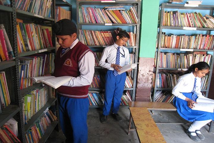 Shri Brahmrishi Vidya Mandir-Library
