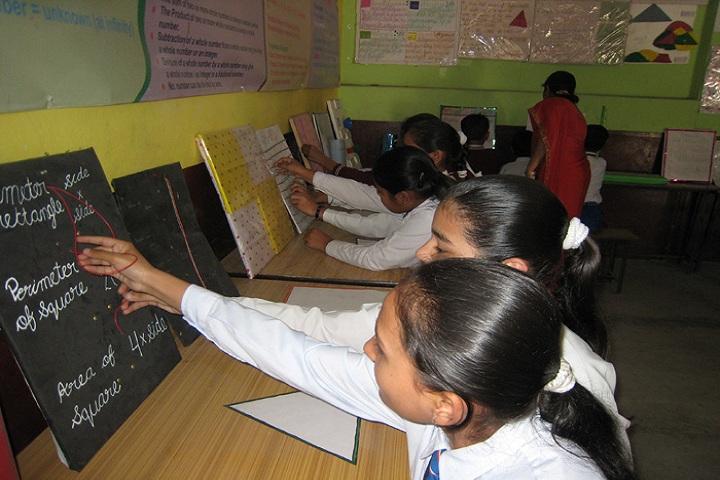 Shri Brahmrishi Vidya Mandir-Math Activity