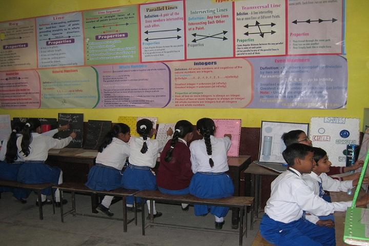 Shri Brahmrishi Vidya Mandir-Math Lab