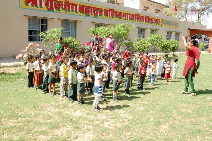 Shri Guru Teg Bahadur Senior Secondary School-Kindergarten Activity