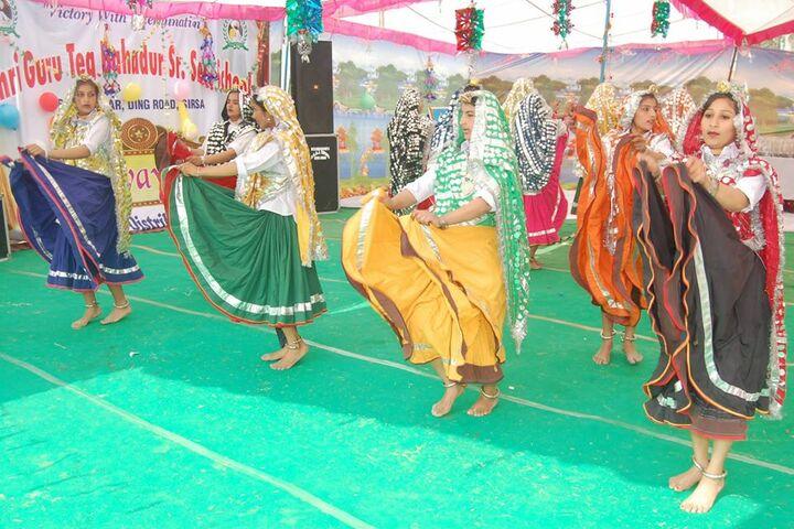 Shri Guru Teg Bahadur Senior Secondary School-Dance Performance