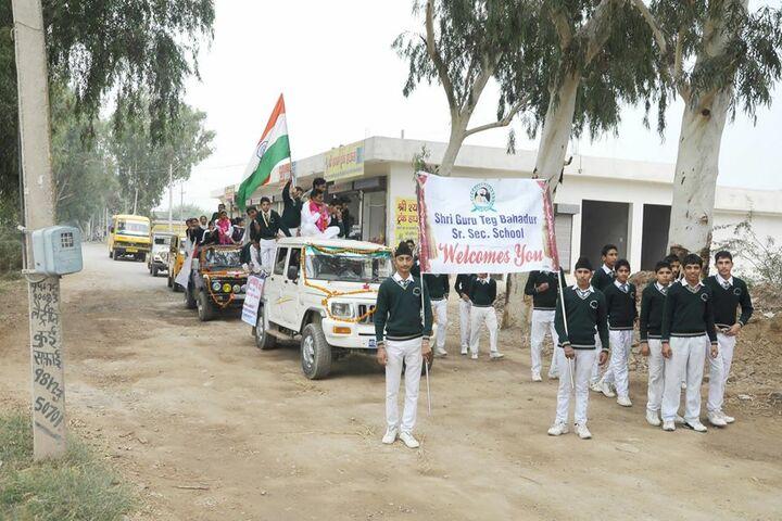 Shri Guru Teg Bahadur Senior Secondary School-Rally
