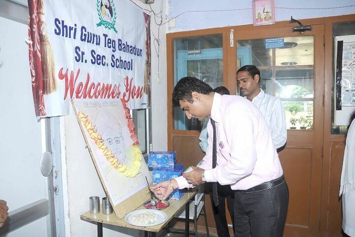 Shri Guru Teg Bahadur Senior Secondary School-Welcome Day