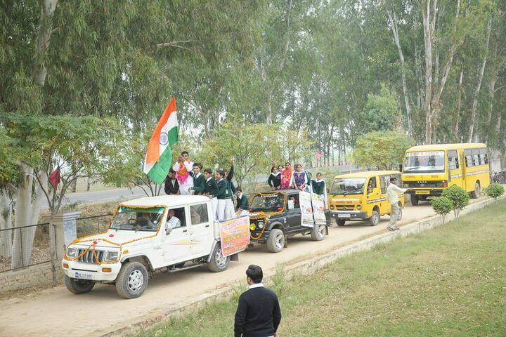 Shri Guru Teg Bahadur Senior Secondary School-Welcome You Rally