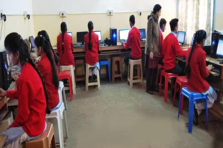 Shri Krishna Parnami Public School-Computer Lab