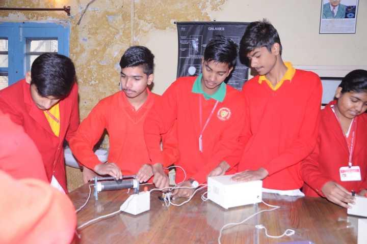 Shri Krishna Parnami Public School-Electronic Lab