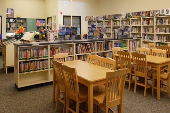 Shri Krishna Parnami Public School-Library