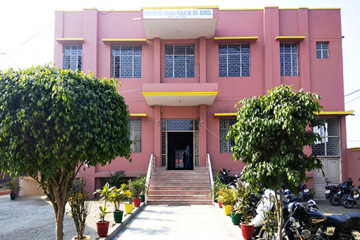 Shri Krishna Parnami Public School-School Entrance