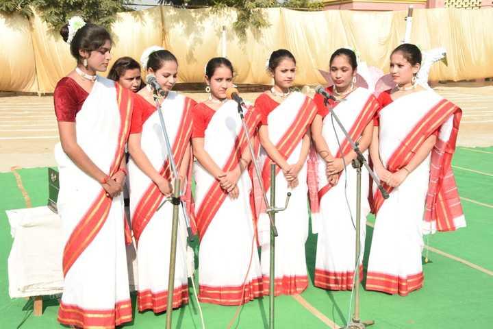 Shri Krishna Parnami Public School-Singing Event