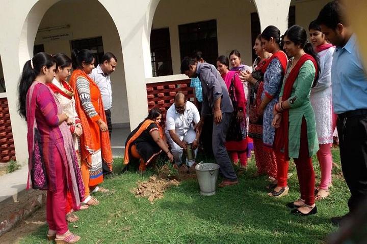 Shri Mahavir Jain Public School-Plantation
