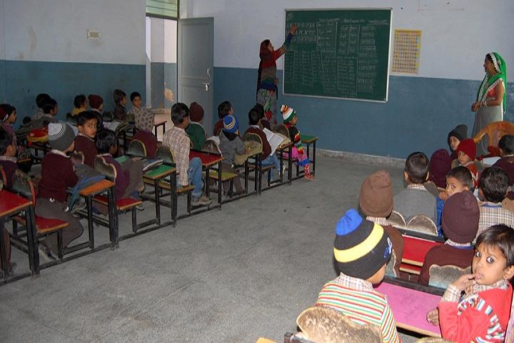 Shri Ram Shiksha Niketan Senior Secondary School-Classroom junior