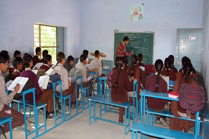 Shri Ram Shiksha Niketan Senior Secondary School-Classroom senior
