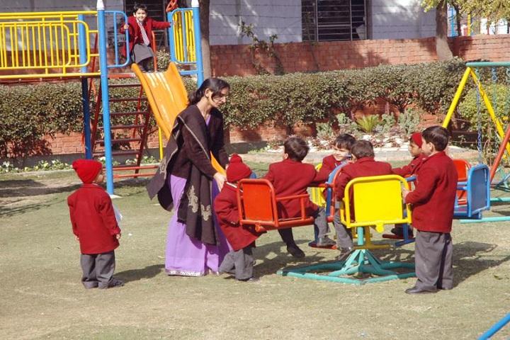 Shri Rama Bharti High School-Kids Play Area