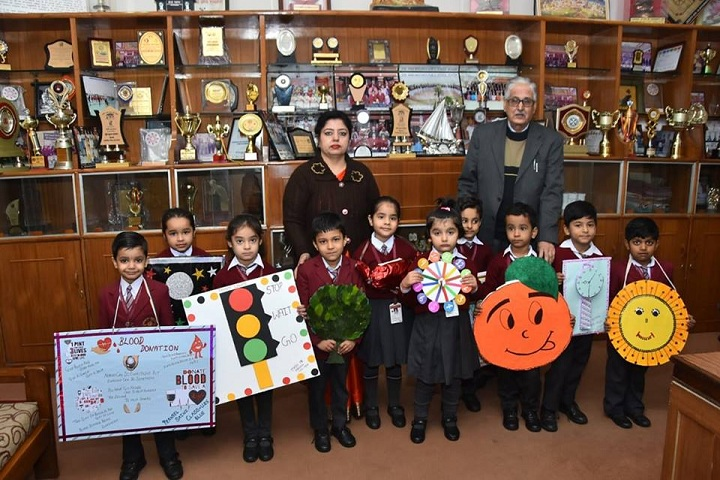 Shribaba Mastnath Public School-Art and Craft