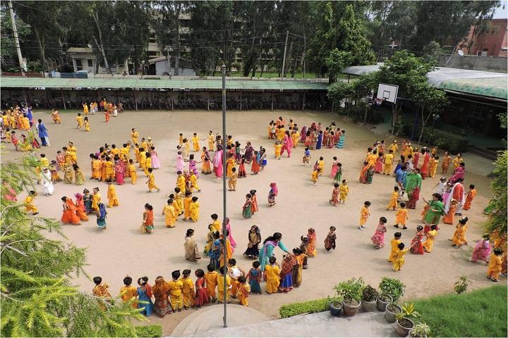 Shribaba Mastnath Public School-Janmastami Celebration