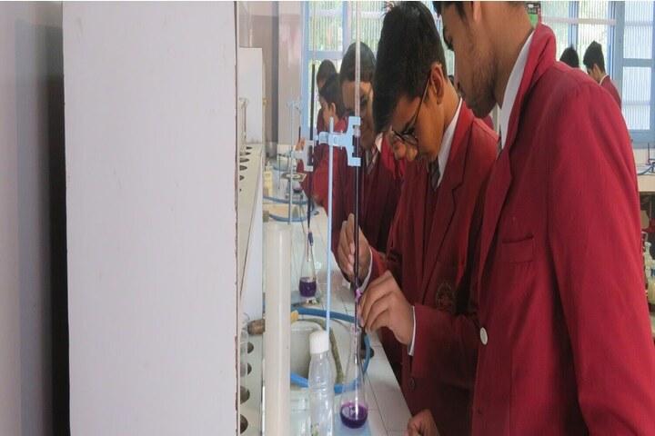 Shri Baba Mastnath Senior Secondary Residential Public School-Chemistry Lab