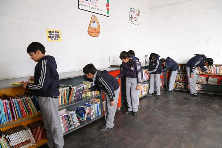 Silver Oak International School-Library