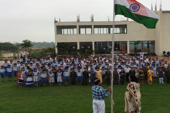 Silver Oak International School-Republic day