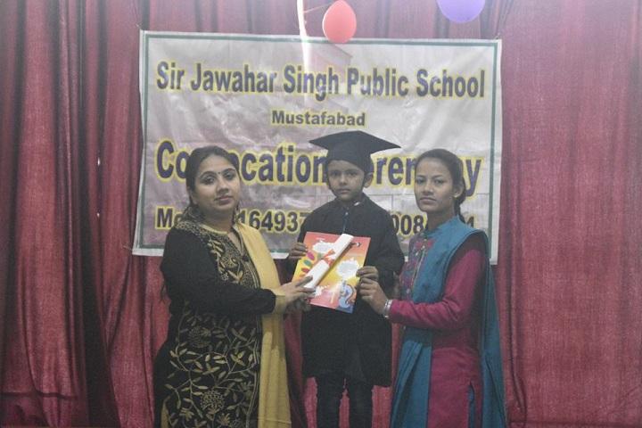 Sir Jawahar Singh Public School-Graduation Day
