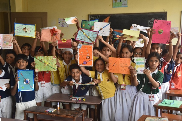 Sir Jawahar Singh Public School-Rakshabandan Celebration
