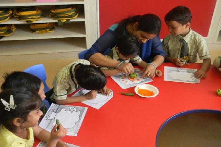SMR International School-Drawing Activity