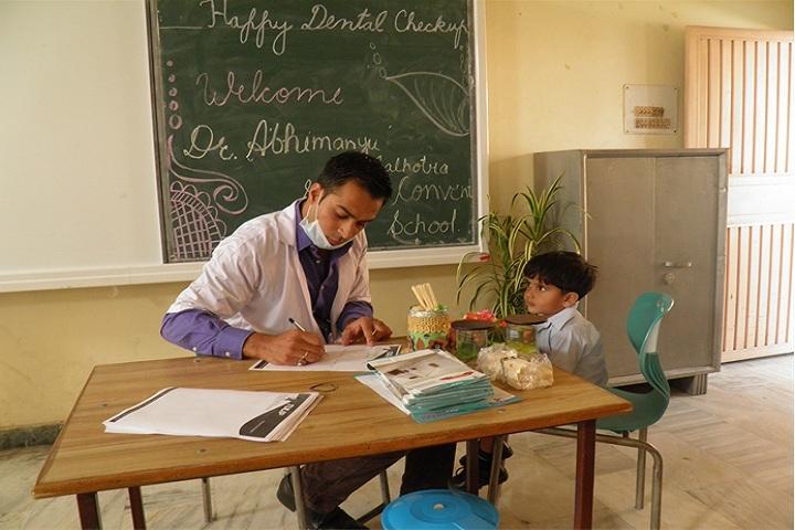 Sofia Convent School-Medical Facility