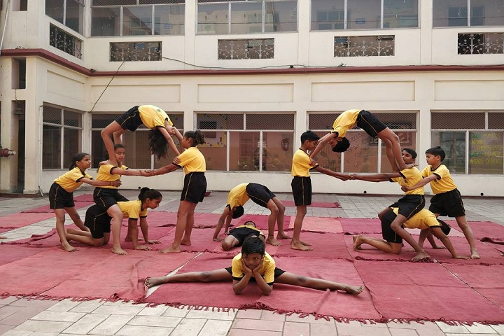 Sofia Convent School-Yoga day