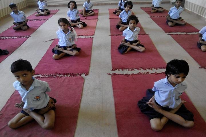 Sofia Convent School-Yoga