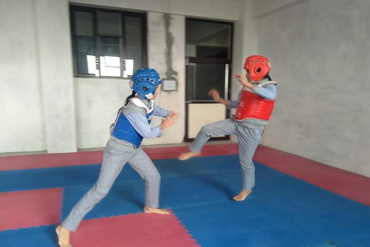 South Point World School-Boxing