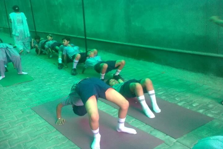 Spring Fields Public School-Yoga