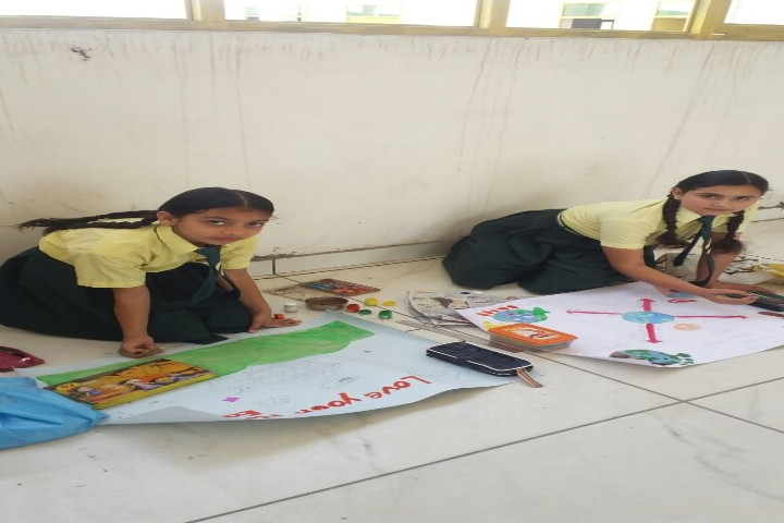 Sri Krishna Public School art