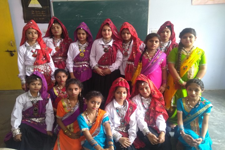 Sri Krishna Public School fancy dress