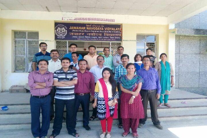 Jawahar Navodaya Vidyalaya-Teachers