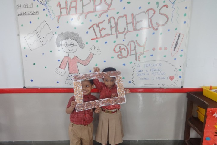 St  Angel Middle School-Teachers Day