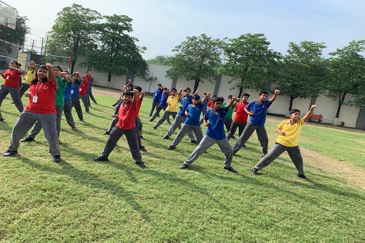 St  Johns School-Karate