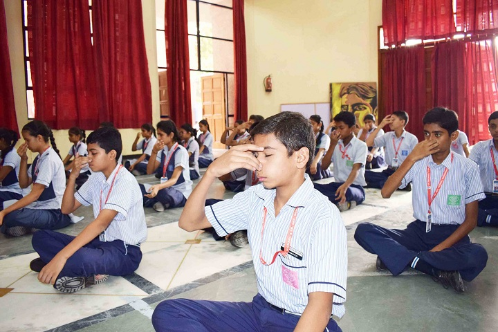 St MichaelS Senior Secondary School-Yoga