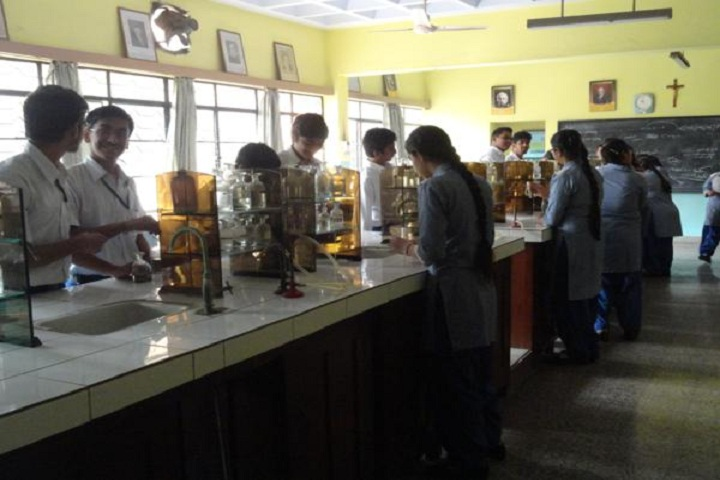 St Theresas Convent School-Chemistry-Lab