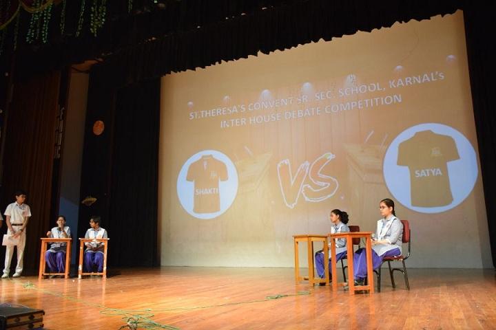 St Theresas Convent School-Debate compitation