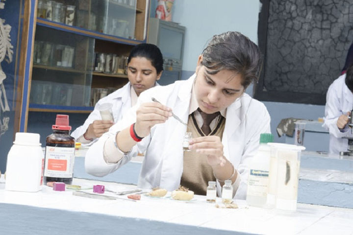 St Xaviers Senior Secondary School-Biology Lab
