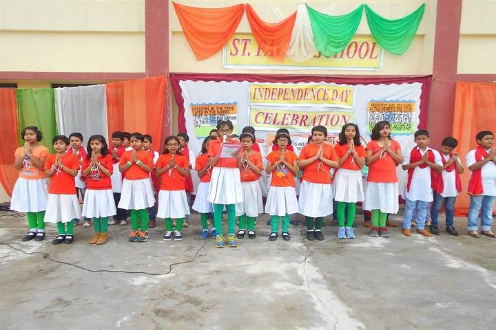St Pauls School-National day celebrations