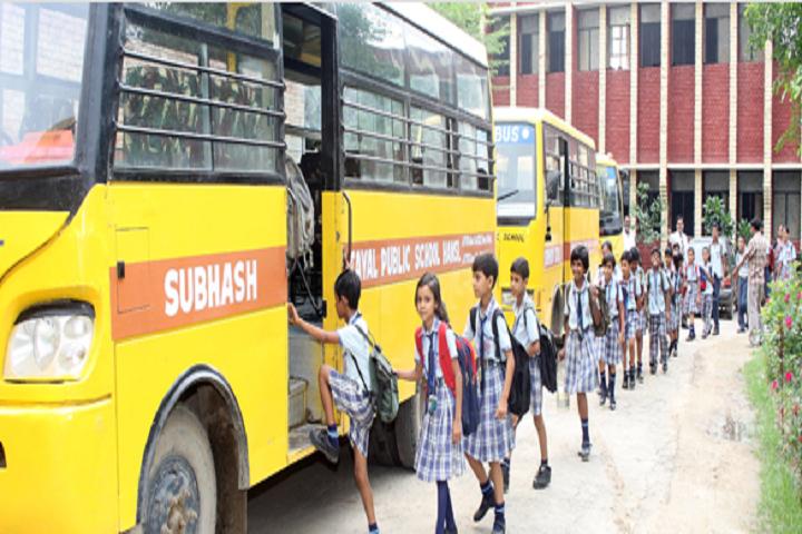Subhash Tayal Public School-Transport