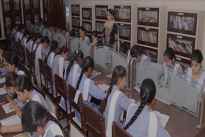 Sugni Devi Arya Girls Senior Secondary School-Library
