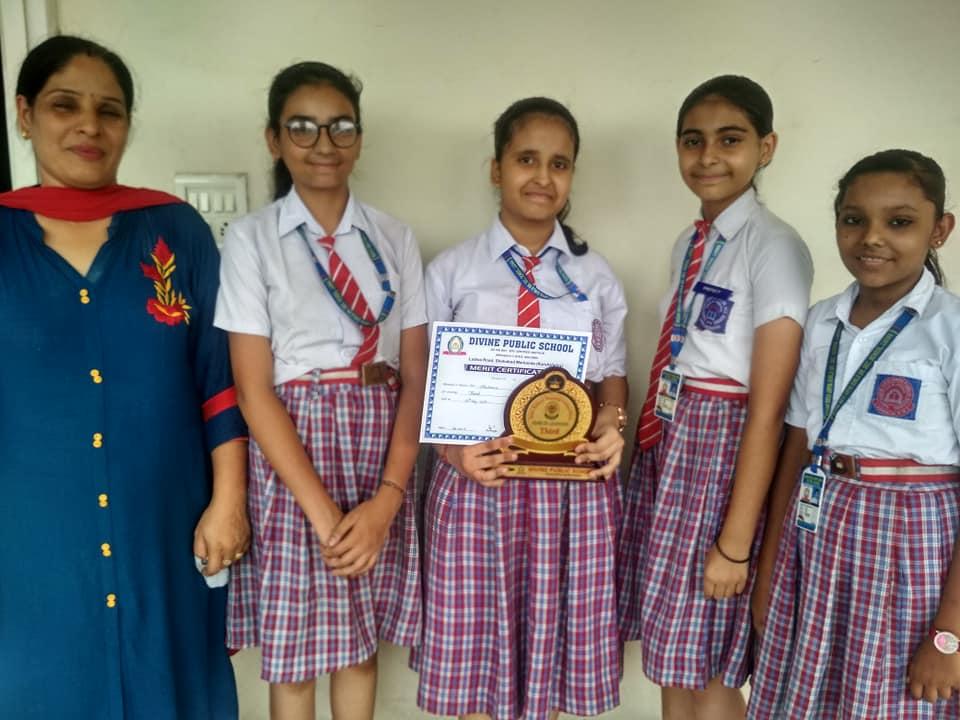 Sugni Devi Arya Girls Senior Secondary School- Award
