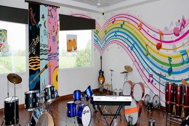 Sunglow International School-Music room
