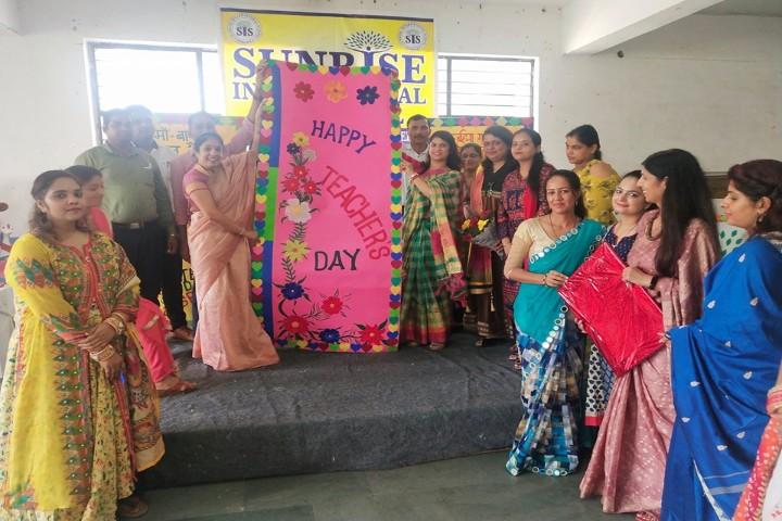 Sunrise International School-Teachers Day