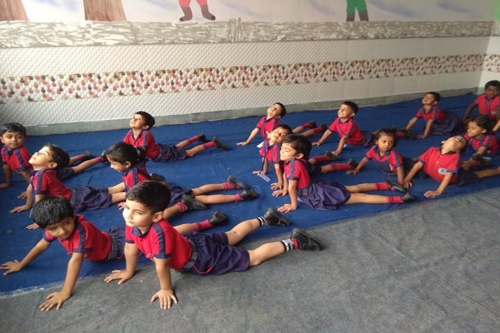 Sunrise International School-Yoga