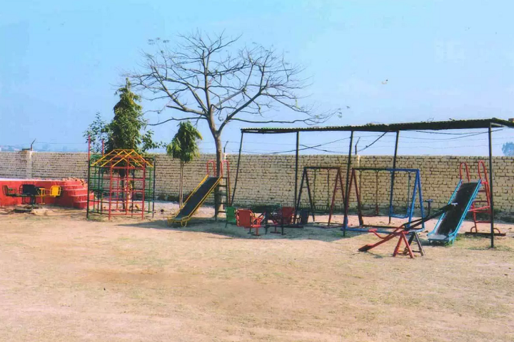 Sunshine Public School-Kids play area